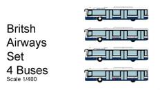 Fantasy Wings 4 Bus pack British Airways Version Scale 1/400 FWAA4004