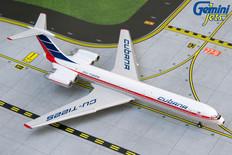 Gemini Jets Cubana Ilyushin IL-62M CU-T1225 Scale 1/400 GJCUB1249