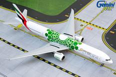 Gemini Jets Emirates Green Expo 2020 Boeing 777-300ER Scale 1/400 GJUAE1817