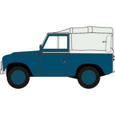 Oxford diecast Land Rover Series II SWB Canvas RAF Police Scale 1/43 OX43LR2S007