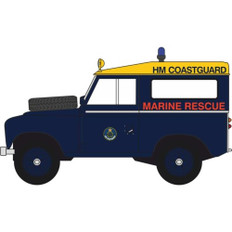 Oxford diecast Land Rover Series 3 SWB Station Wagon HM Coastguard Scale 1/43 OX43LR3S007