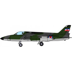 Aviation 72 Folland Gnat Single Seater Yugoslav Air Force Museum Scale 1/72 AV7228005