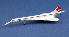 Herpa Wings British Airways Concorde Negus colors Scale 1/500 527477-001
