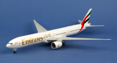 Herpa Wings Emirates Boeing 777-300ER Expo 2020 Opportunity A6-EPO Scale 1/200 557467