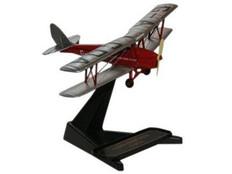 Oxford diescast DH Tiger Moth De Havilland Flying Club G-ACDA Scale 1/72 OX72TM003