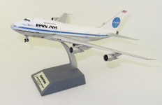 Inflight 200 Pan Am Boeing 747SP-21 Clipper Kiss Special N532PA Polished With Stand Scale 1/200 IF747SPPA0420P