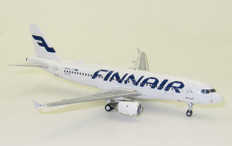 J Fox Models Finnair Airbus A320-214 OH-LXM with stand Scale 1/200 JFA320030