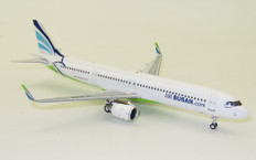 Aviation 200 Air Bushan Airbus A321neo HL8366 With Stand Scale 1/200 AV2018