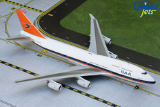Gemini 200 South African Airways Retro colours Boeing 747-400 ZS-SAX Scale 1/200 G2SAA556
