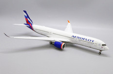 JC Wings Aeroflot Airbus VQ-BFY Flaps down With stand Scale 1/200 JC2430A