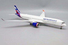 JC Wings Aeroflot Airbus VQ-BFY Flaps up With stand Scale 1/200 JC2430