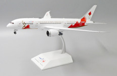 JC Wings JAL Boeing B787-8 Torch Relay JA837J With Stand Scale 1/200 JCEW2788001