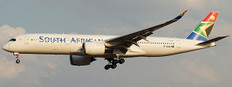 JC Wings South African Airways Airbus A350-900 Flap Down ZS-SDC With Stand Scale 1/200 JC2422A