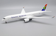 JC Wings South African Airways Airbus A350-900 ZS-SDC With Stand Scale 1/200 JC2422