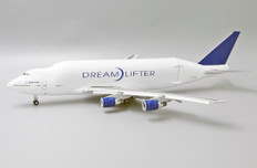 JC Wings Boeing Company Boeing 747-400(LCF) Flap Down N747B With Stand Scale 1/200 JCLH2163A