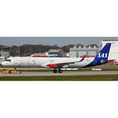 JC Wings Scandinavian Airlines Airbus A321NEO SE-DMO With Stand Scale 1/200 JC20021