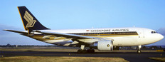 JC Wings Singapore Airlines Airbus A310-300 9V-STP with antenna Scale 1/200 JCEW2313001