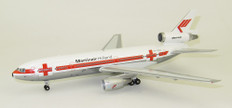 Inflight 200 Martinair Holland Red Cross DC-10 Series 30 PH-MBG with stand Scale 1/200 IFDC10MP0620P