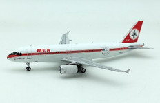 Inflight 200 MEA 75th Anniversary Retro Airbus A320-200 OD-MRT with stand Scale 1/200 IF320ME0720