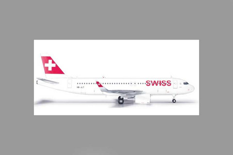Herpa  Swiss International Air Lines Airbus A320 Scale 1/200 556262