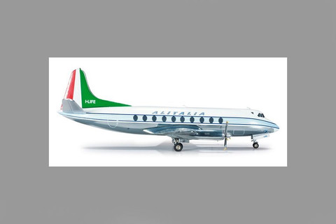 Herpa Alitalia Vickers Viscount 700 Scale 1/200 554732