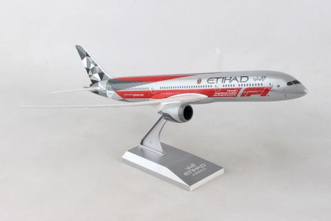Skymarks Etihad Abu Dhabi Grand Prix Boeing 787 A6-BLV Scale 1/200 SKR1005
