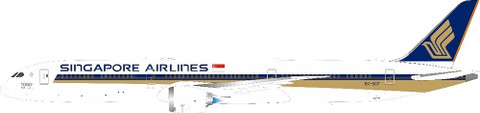 J Fox Models  Singapore Airlines The 1000th Dreamliner  Boeing 787-10 Dreamliner 9V-SCP With Stand Scale 1/200 WB78710002