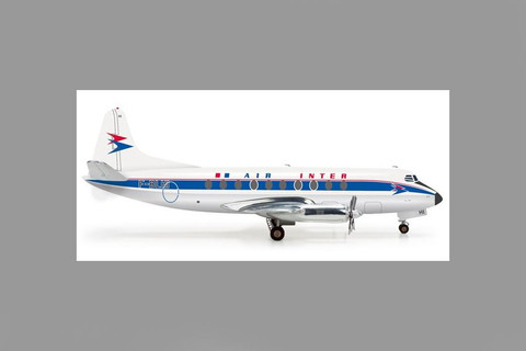 Herpa Air Inter Vickers Viscount 700 Scale 1/200 555395