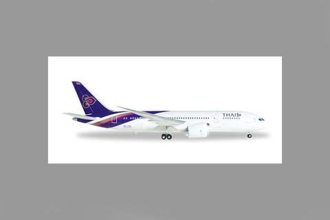 Herpa  Thai Airways Boeing 787-8 Dreamliner Scale 1/200 556958