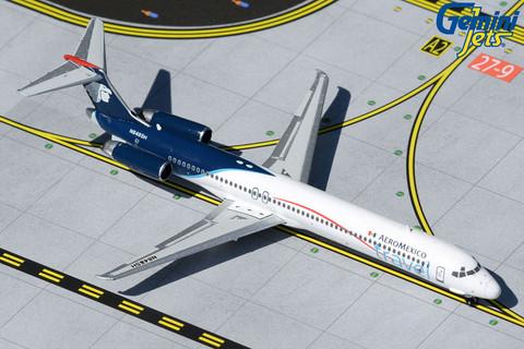 Gemini Jets Aeromexico travel McDonnell Douglas MD-83 N848SH Scale 1/400 GJAMX1434