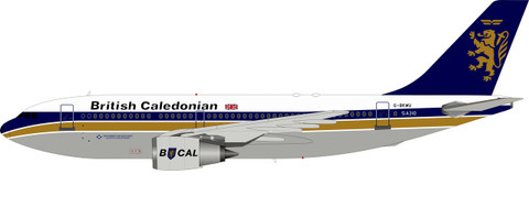 Inflight 200 British Caledonian A310-203 G-BKWU with stand Scale 1/200 IF310BCAL0720