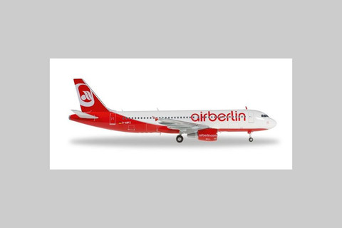 Herpa Airberlin Airbus A320 D-ABFZ Scale 1/200 557412