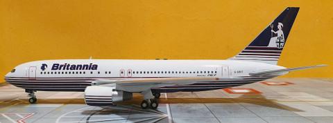 ARD200 Britannia Boeing 767-204 G-BRIF With Stand Scale 1/200 ARD762BT01