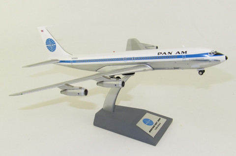 Inflight 200 Pan Am POLISHED Boeing 707-300 N434PA with stand Scale 1/200 IF707PA1120P