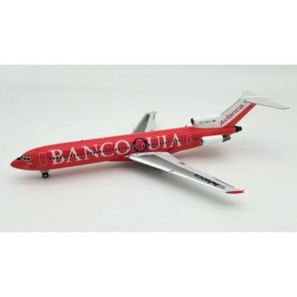 Jp60 Models Avianca Boeing 727-200 HK-3480K with stand Scale 1/200 JP60722AV3480K
