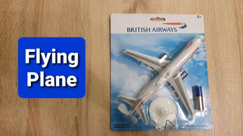 Premier Portfolio British Airways Flying Plane 21cm long