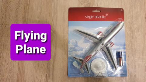 Premier Portfolio Virgin Atlantic Flying Plane 21cm long