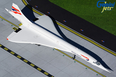 Gemini 200 British Airways Concorde G-BOAB Scale 1/200 G2BAW915
