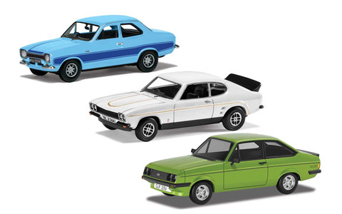 Corgi 1970 Ford RS Set Includes New Tool Escort RS2000 Scale 1/43 RS00002