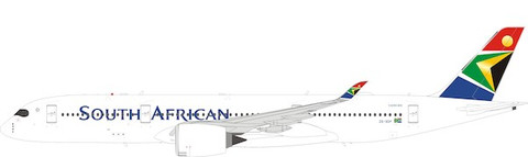 Inflight 200 South African Airways Airbus A350-900 ZS-SDF with stand Scale 1/200 IF359SAA05