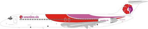 WB Models Hawaiian Air DC-9-51 with stand Scale 1/200 WB951HA649
