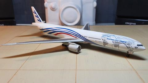 Jet X World Livery Boeing 777-300ER N5071V Scale 1/400 JXM143