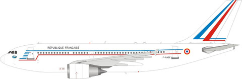Inflight 200 France Air Force Airbus A310-304 F-RADC with stand Scale 1/200 IF310FAF0720