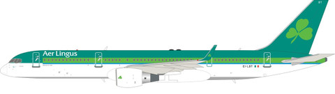 Inflight 200 Aer Lingus Boeing 757-200 EI-LBT with stand Scale 1/200 IF752EI0521
