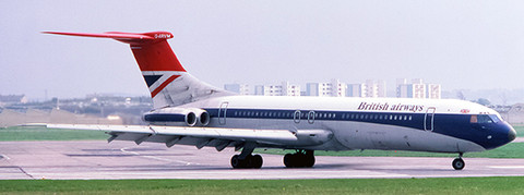 JC Wings British Airways Hybrid Livery Standard VC10 G-ARVM With Stand Scale 1/200 JC2373