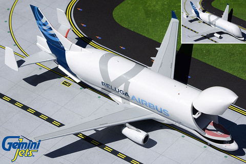 Gemini 200 Airbus A330-700 Beluga F-WBXL With Opening Nose Scale 1/200 G2AIR927