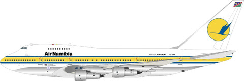 Inflight 200 Air Namibia Boeing 747SP-44 VS-SPF with stand Scale 1/200 IF74SPSW0621P