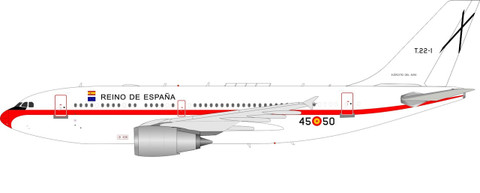 Inflight 200 Spanish Air Force Airbus A310-304 T22-1 with stand Scale 1/200 IF310SPAIN310