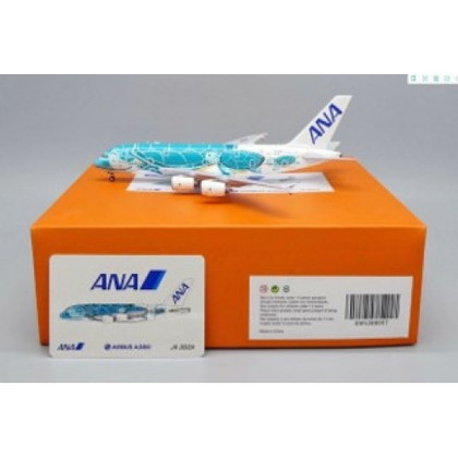 JC Wings All Nippon Flying Honu - Kaiana Airbus A380 JA382A with Antenna Scale 1/400 JCEW4388007