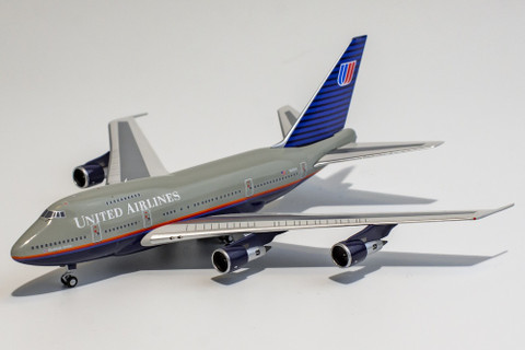 NG Models United Airlines  Boeing 747SP N145UA Battleship livery Scale 1/400 NG07008